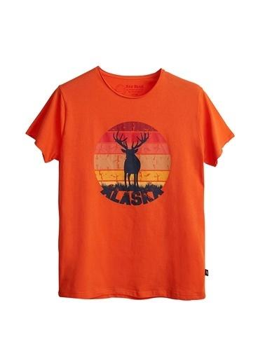 Bad Bear Tişört Oranj
